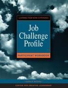 Job Challenge Profile Participant Workbook