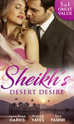 Sheikh's Desert Desire: Carrying the Sheikh's Heir (Heirs to the Throne of Kyr, Book 2) / Forged in the Desert Heat / The True King of Dahaar (A Dynasty of Sand and Scandal, Book 2) (Mills & Boon M&B) (Heirs to the Throne of Kyr, Book 2)