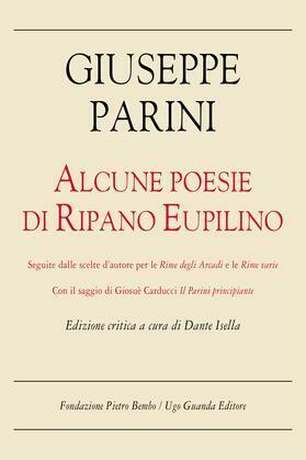 Alcune poesie di Ripano Eupilino. Edizione critica