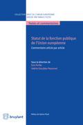 Statut de la fonction publique de l'Union européenne