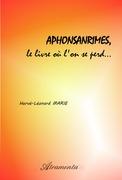 Aphonsanrimes, le livre où l'on se perd...