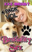 Bestiality Sex - 4-Pack Vol 1: zoophilia zoophilia erotica beast beast erotica bestiality bestiality erotica knot knotting knotted dog dog sex animal sex creampie oral sex first time taboo xxx