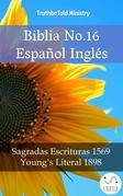 Biblia No.16 Español Inglés