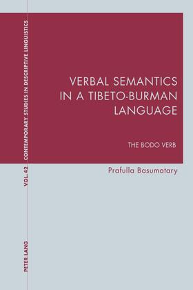 Verbal Semantics in a Tibeto-Burman Language