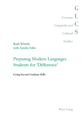 Preparing Modern Languages Students for 'Difference'