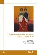 Être nationaliste à l'ère des masses en Europe (1900–1920)