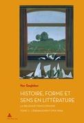 Histoire, Forme et Sens en Littérature