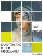 Sanditon And Other Miscellanea