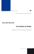 Two Studies on Pindar