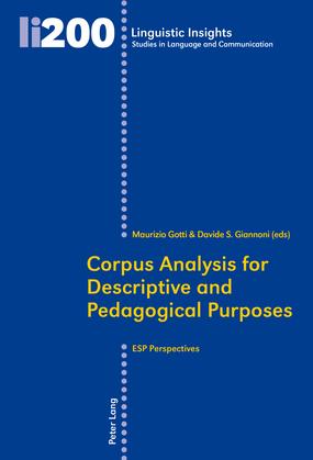 Corpus Analysis for Descriptive and Pedagogical Purposes