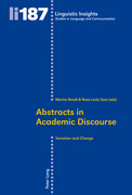 Abstracts in Academic Discourse