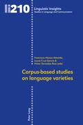 Corpus-based studies on language varieties
