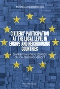 Citizens' participation at the local level in Europe and Neighbouring Countries