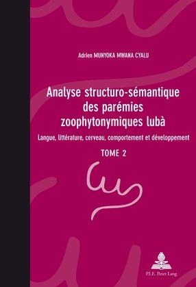 Analyse structuro-sémantique des parémies zoophytonymiques lubà