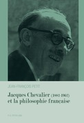 Jacques Chevalier (1882–1962) et la philosophie française