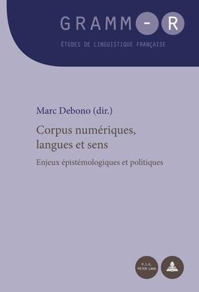 Corpus numériques, langues et sens