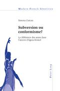 Subversion ou conformisme ?