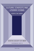 Cultural Contexts and Literary Forms
