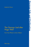 The German «Lied» after Hugo Wolf