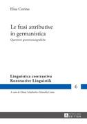 Le frasi attributive in germanistica