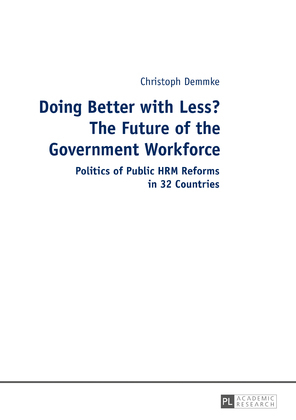 Doing Better with Less? The Future of the Government Workforce
