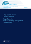 Legal Issues in Cultural Heritage Management