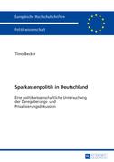 Sparkassenpolitik in Deutschland