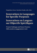 Innovations in Languages for Specific Purposes - Innovations en Langues sur Objectifs Spécifiques