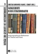 Fachgeschichte in der Literaturdidaktik