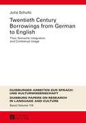 Twentieth-Century Borrowings from German to English
