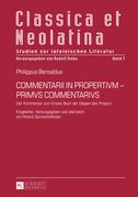 COMMENTARII IN PROPERTIVM - PRIMVS COMMENTARIVS
