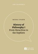 History of Philosophy I