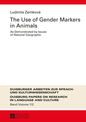 The Use of Gender Markers in Animals