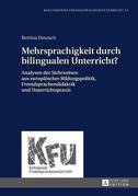 Mehrsprachigkeit durch bilingualen Unterricht?