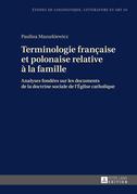 Terminologie française et polonaise relative à la famille