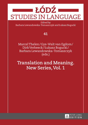 Translation and Meaning