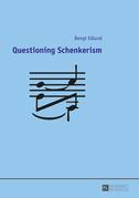 Questioning Schenkerism