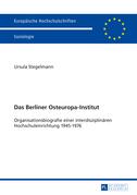 Das Berliner Osteuropa-Institut