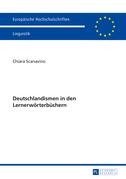 Deutschlandismen in den Lernerwoerterbuechern