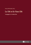 Le Dit et le Non-Dit