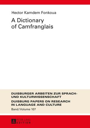 A Dictionary of Camfranglais