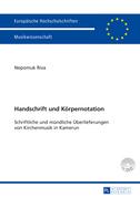 Handschrift und Koerpernotation