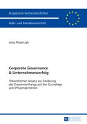 Corporate Governance und Unternehmenserfolg