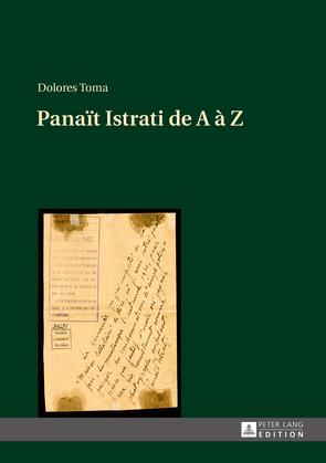 Panaït Istrati de A à Z