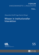 Wissen in institutioneller Interaktion