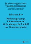 Rechnungslegungsinformationen zu Verbriefungen im Umfeld der Finanzmarktkrise