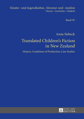 Translated Children's Fiction in New Zealand