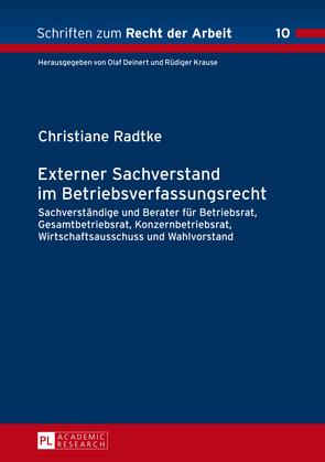 Externer Sachverstand im Betriebsverfassungsrecht
