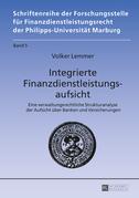 Integrierte Finanzdienstleistungsaufsicht