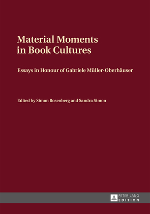 Material Moments in Book Cultures